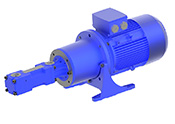 Screw spindle pump / High pressure pump FFS